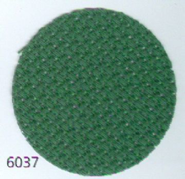 Zweigart 14ct Christmas Green Aida ( 6037 )